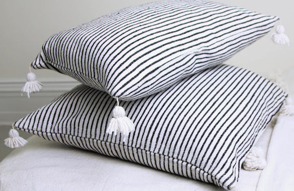 KESH THIN STRIPE PILLOW COVER
