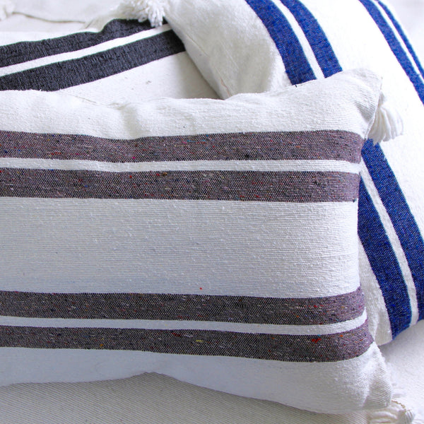KESH WIDE STRIPE PILLOW COVER