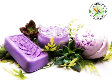 Lavender relaxation with real essential oils