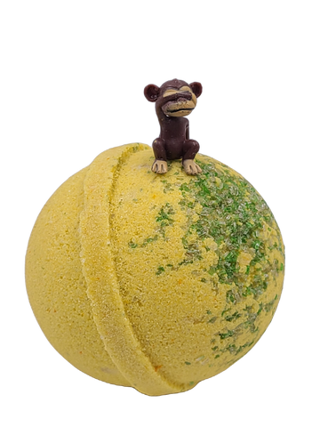 Monkey Farts Bath Bomb w/ Monkey Toy