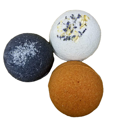 Bath Bomb PLUS (w/ essential oils)