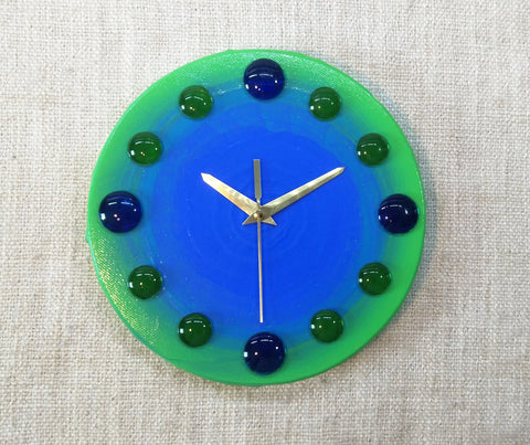 Eco Fresh 20cm Canvas Clock by John Davis