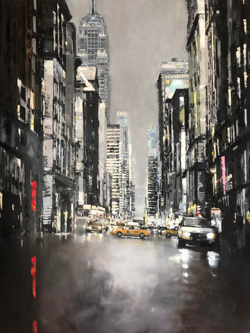 Empire State Building 5th Avenue Jose Martinez 30x40cm