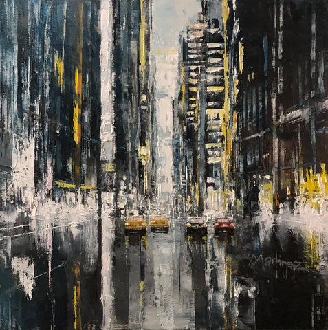 New York Screams (Original) Limited Edition Print by Jose Martinez