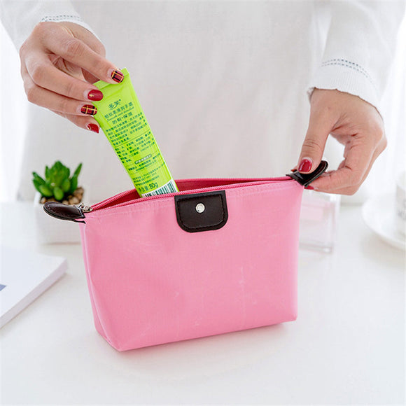 Cosmetic bag for make up organizer Makeup With Cute Cosmetics Pouchs For Travel Ladies Pouch Women Nylon Wash Storage Bags box