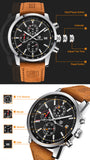 BENYAR - Chronograph Mens Watch,  Top Brand Luxury Quartz Watch