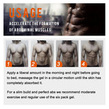 Powerful Abdominal Muscle Cream - used as Anti Cellulite  and Burn Fat Product for Weight Loss