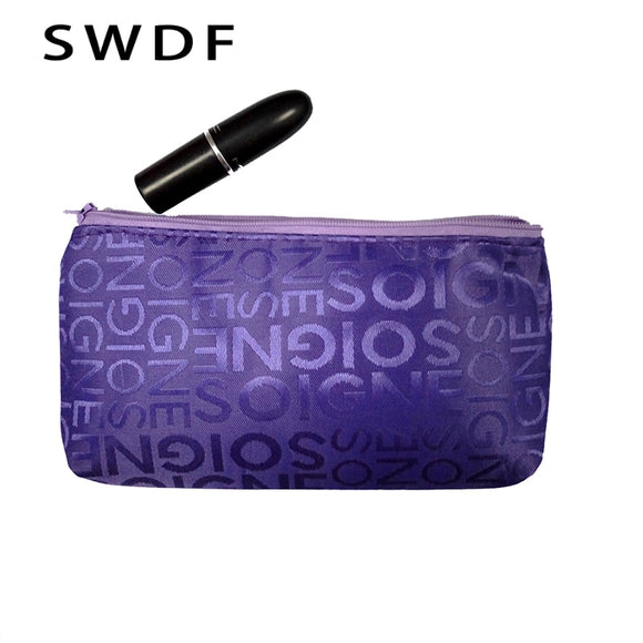 Portable Cute Multifunction Beauty Zipper Travel Cosmetic Bag, Makeup Bag, PouchToiletry, Organizer, Holder