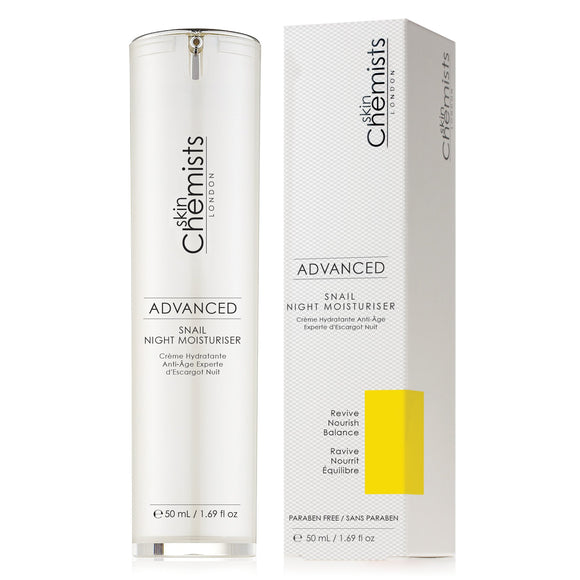 SkinChemists London - Advanced Snail Night Moisturiser
