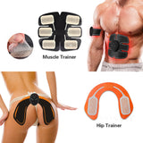 EMS Hip Trainer Muscle Vibrating Exercise Stimulate Machine Fitness Equipment 6 Modes Body Slimming Shaper Machine Workout