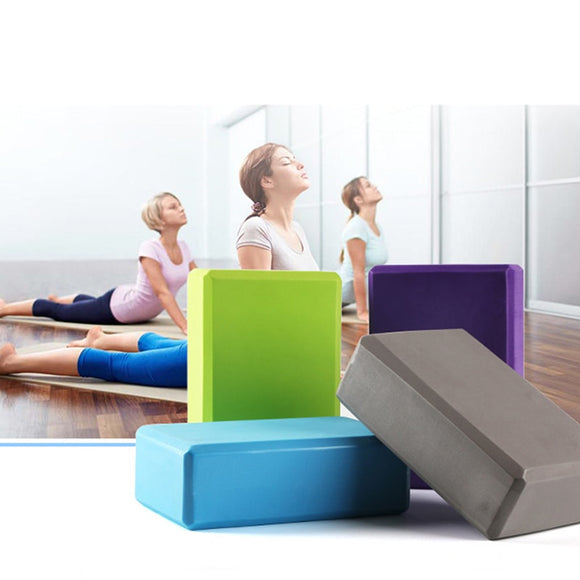 AIBOULLY - Yoga Training Block, Body Shaping, Pilates, Fitness Foam Brick, Stretching Aid, Yoga Block (EVA)