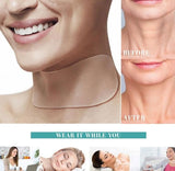 Portable Chin Massage Neck Slimmer Neckline Exerciser Reduce Double Thin Wrinkle Removal Jaw Body Massager Face Lift Tool Tool