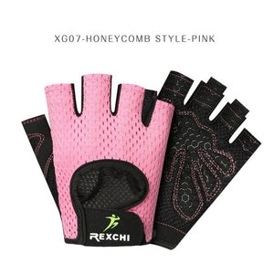 REXCHI UNISEX Professional Gym Fitness Gloves Power, Weight Lifting - SALE