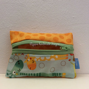 Billetero jirafas - Billeter girafes - Giraffes dancer wallet - Giraffer jenta billfold