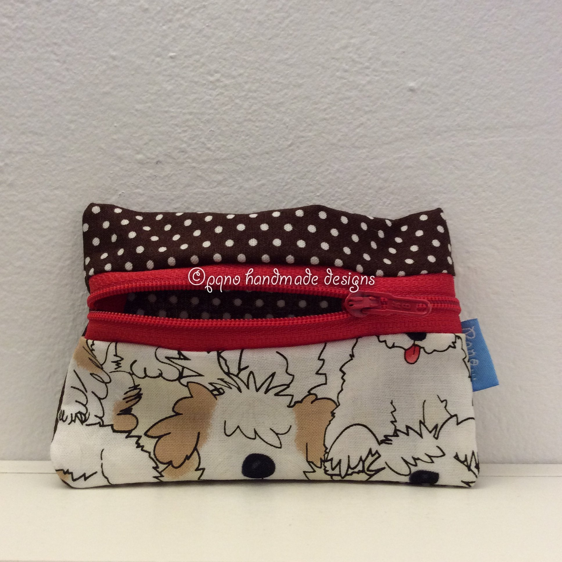 Billetero perros - Billeter gossos - Dogs wallet - Hunder billfold