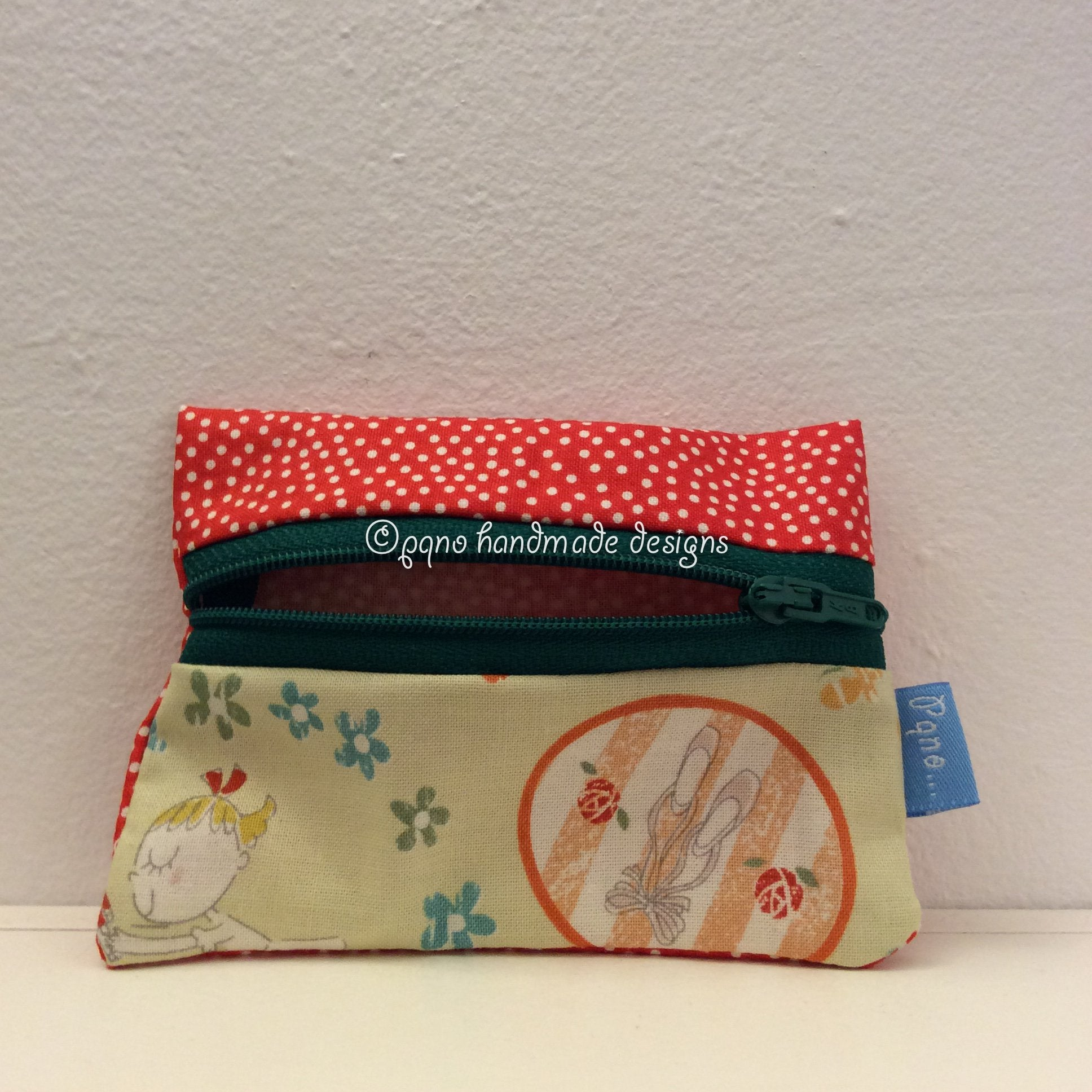 Billetero bailarina - Billeter ballarina - Ballet dancer wallet - Ballerina jenta billfold