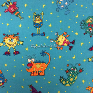 Babero grande monstruos - Pitet gran monstres - Monsters big bib - Monstre store smekke