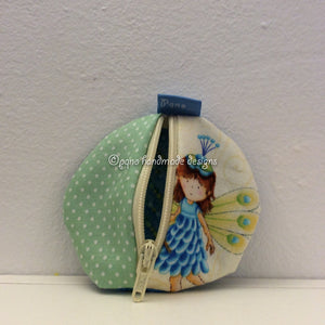 Monedero  hada - Moneder fada - Fairy coin purse - Fe lommebok