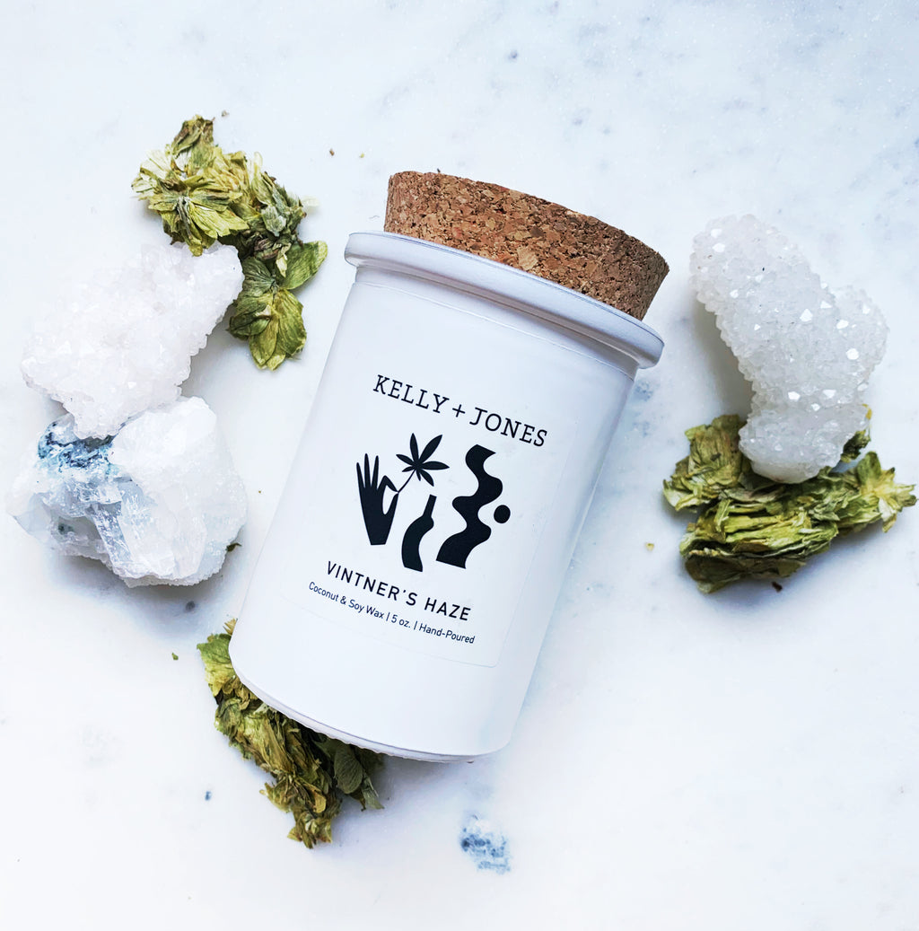 Vintner's Haze Candle - Kelly and Jones
