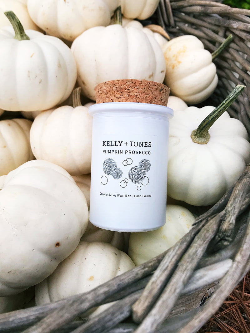 Pumpkin Prosecco Candle - Kelly and Jones