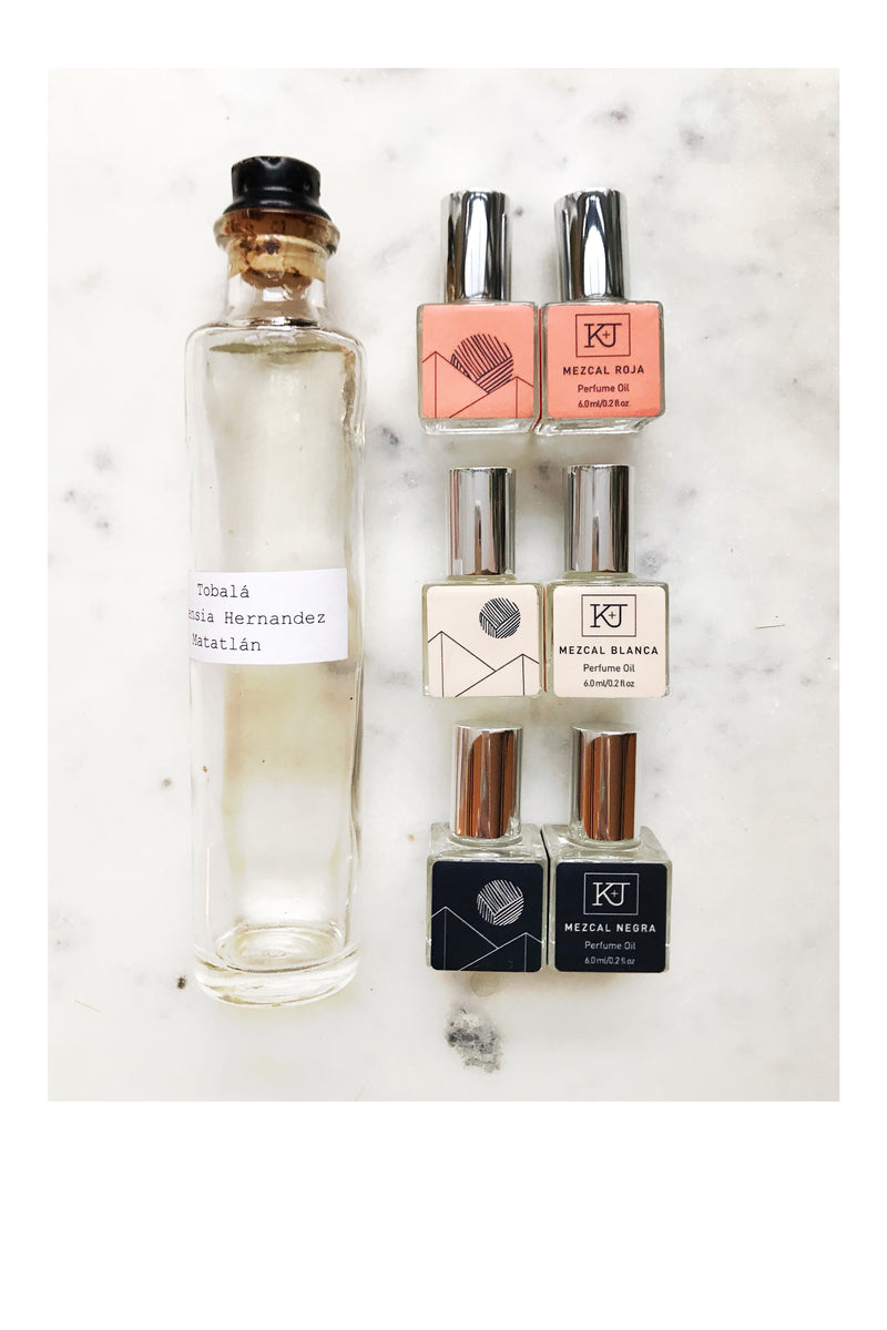 NEW! Eau de Mezcal Perfume Oil Roll-Ons - Kelly and Jones