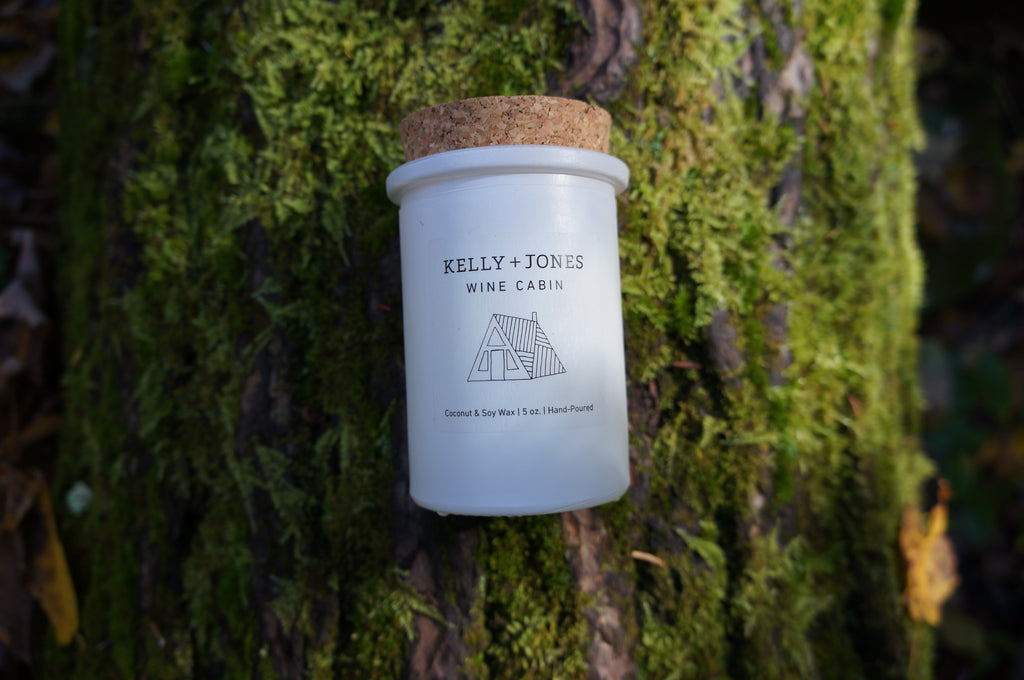 Wine Cabin Candle - Kelly and Jones
