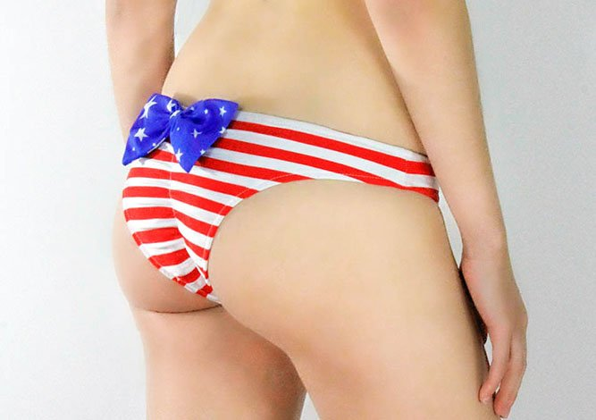 Star Spangled Bottom