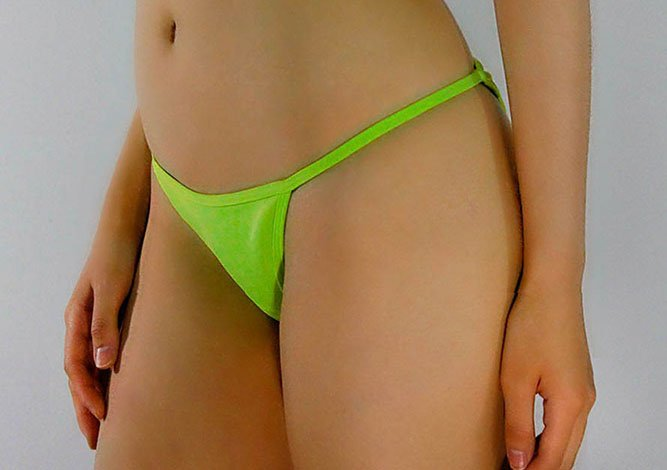 Neon Green Bottom