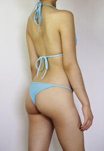Sky Blue Cheeky String Bikini Set - Fahrenheit Swimwear