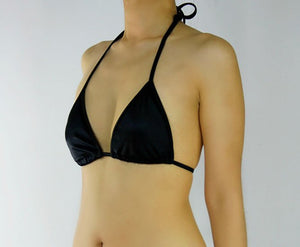 Classic Black Triangle Top - Fahrenheit Swimwear