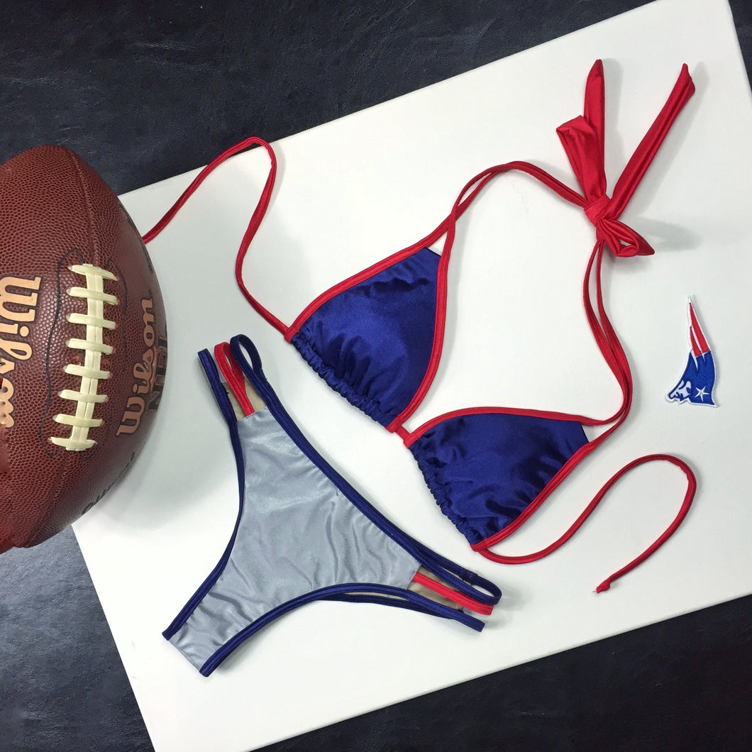 Patriots - Red, Silver and Navy Blue