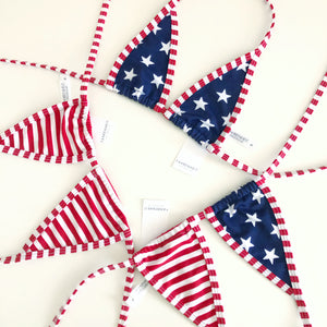 Stars and Stripes Extreme Micro Top