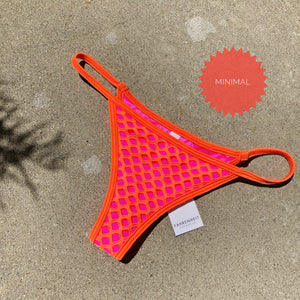 Orange Net String Bottom
