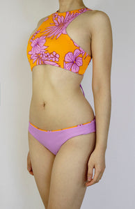Lilac Hawaiian Flowers Bottom