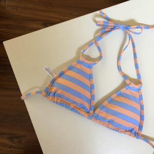 Double Strings Periwinkle Stripes Bottom