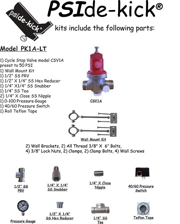 PK1A-LT specifications