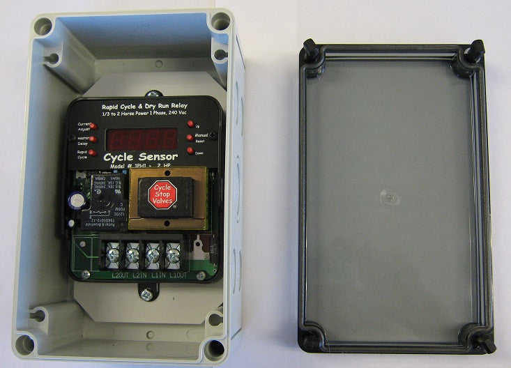 NEMA ENCLOSURE ONLY for Single Phase CYCLE SENSOR