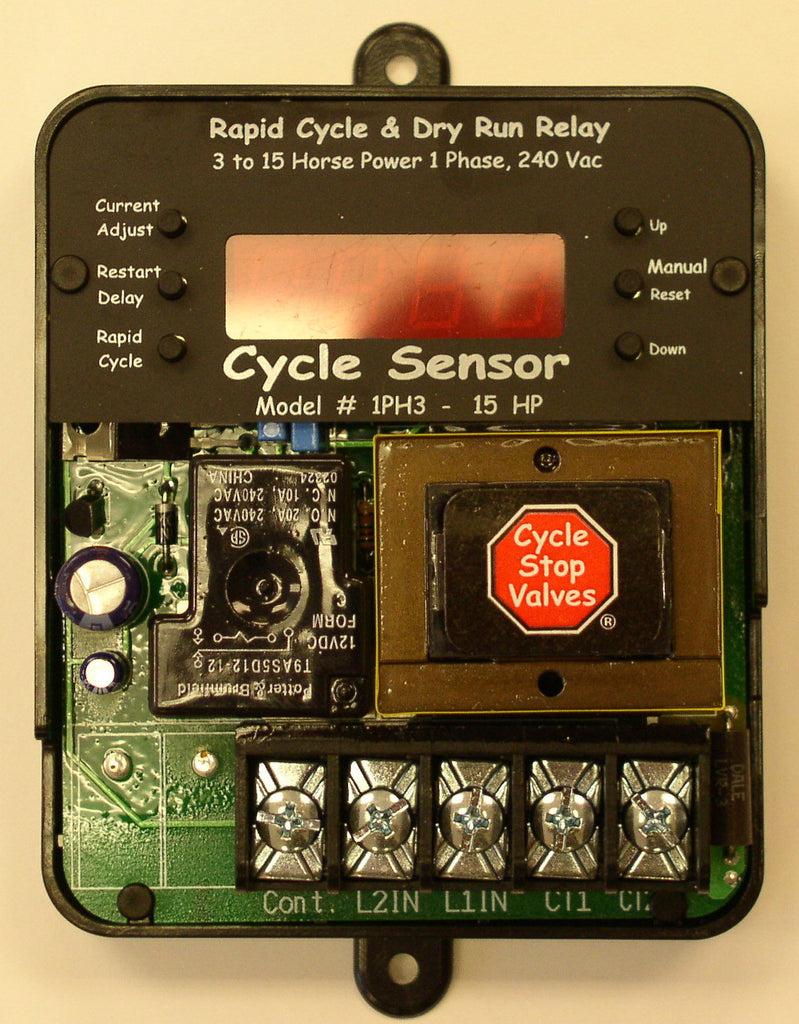 CS1PH3-15HP230V.......... CYCLE SENSOR w/ NEMA ENCLOSURE