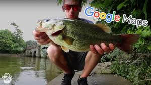 How To Find Local Fishing Spots Near You Using Google Maps!