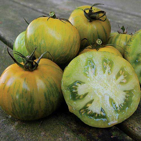Seed Savers Exchange - Green Zebra Tomato