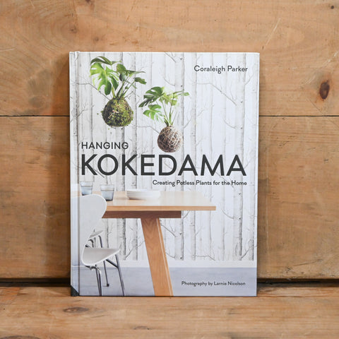 Hanging Kokedama - by Coraleigh Parker