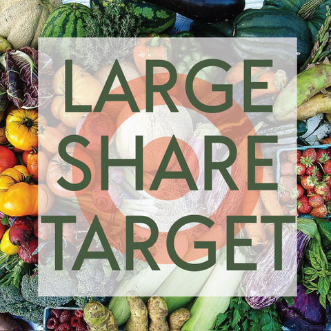 *Sold Out - Tangletown Gardens 2020 CSA Large Share for Target Employees Now Available