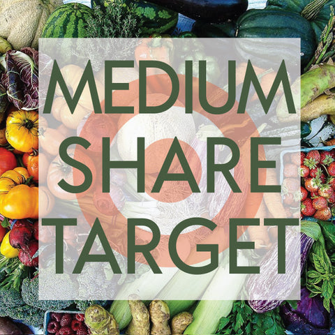 *Sold Out - Tangletown Gardens 2020 CSA Medium Share for Target Employees Now Available