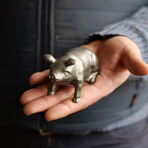 Metal Pig Bottle Opener