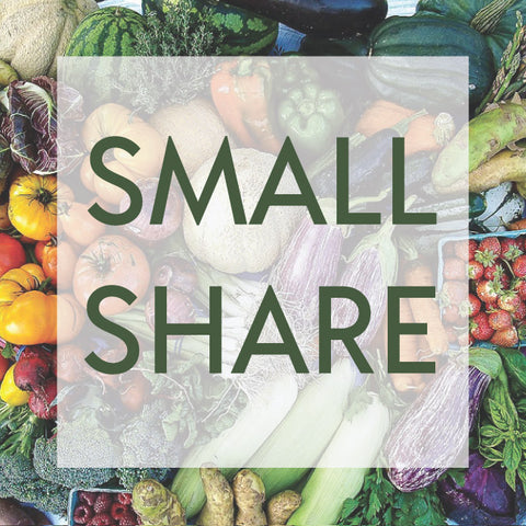 *Sold Out - 2020 Small CSA Shares Now Available