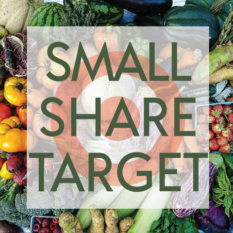 *Sold Out - Tangletown Gardens 2020 CSA Small Share for Target Employees Now Available