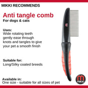 Mikki Anti-Tangle Comb Fine Coat