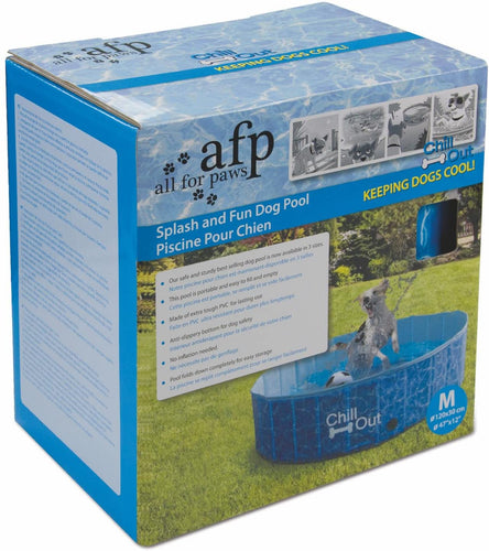 All For Paws Chill Out Splash and Fun Dog Pool Medium