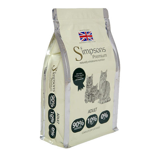 Simpsons 90/10 Adult Cat Food Mixed Meat & Fish 6kg