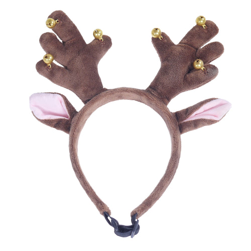Rosewood Jingle Bell Dog Christmas Antlers